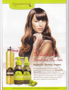 Hair Salon Broome - Macademia Products