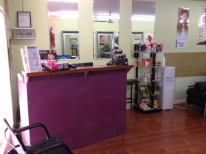 Hair Salon Broome - Receiving Area