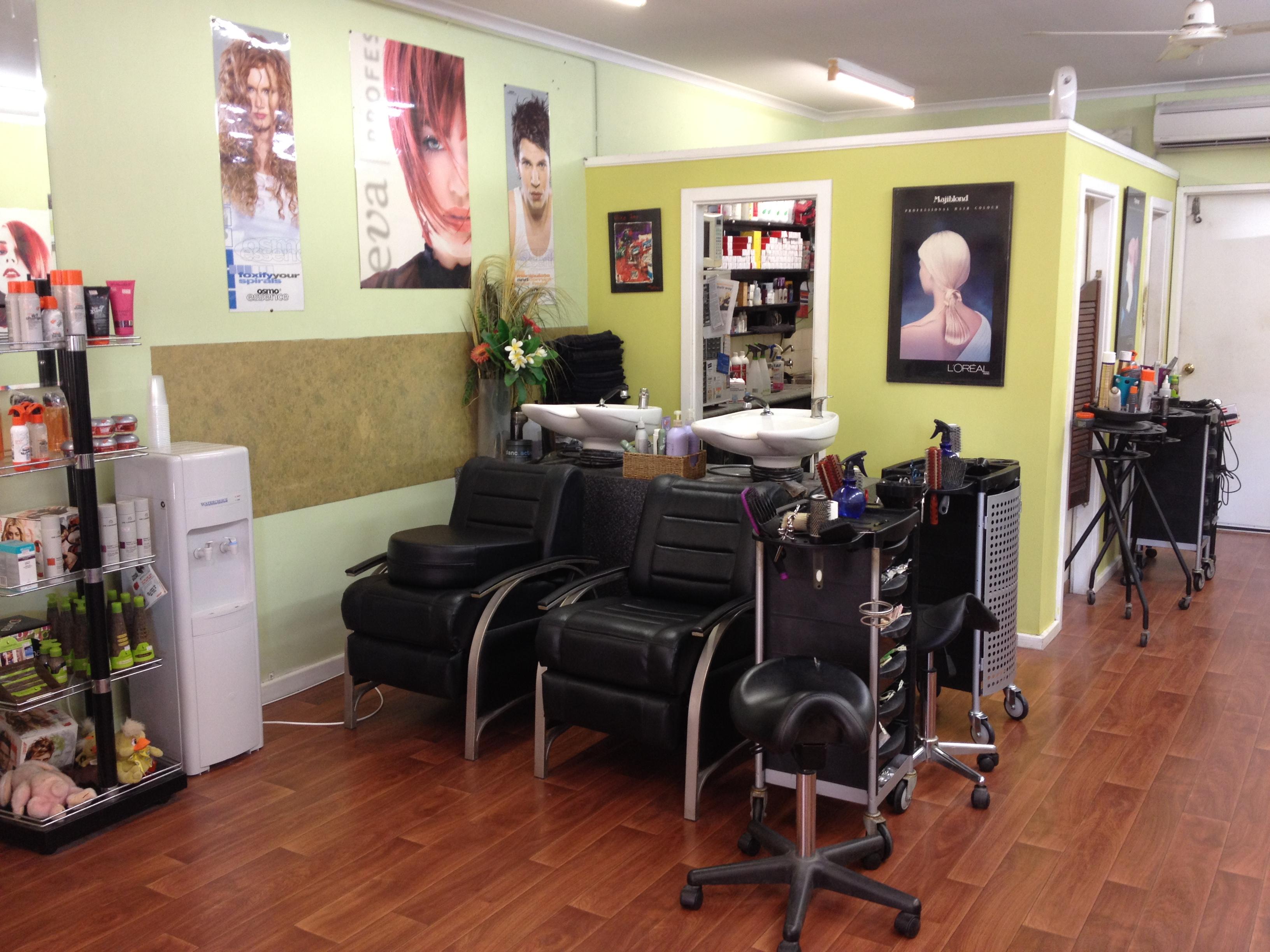 Gahs Hair Studio Inside