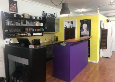 Salon Reception-Shaggahs Hair Studio-Hair Salon Broome